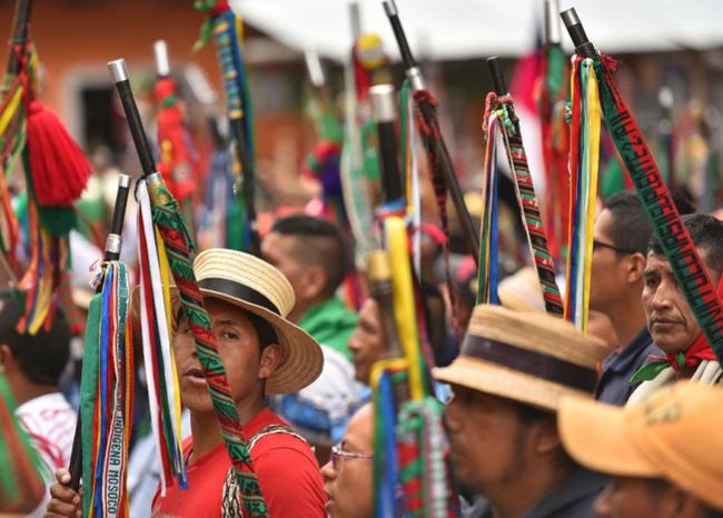 JEP acreditó como víctimas a organizaciones indígenas y campesinas del Cauca y Valle