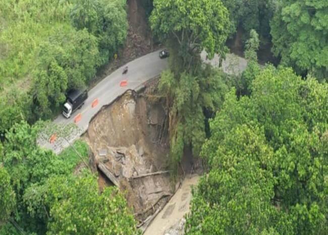 Prohíben el paso de vehículos pesados por la vía Bucaramanga- San Gil