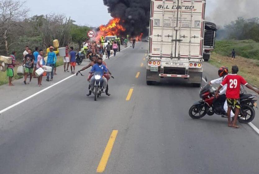 Duque anuncia investigaciones tras explosión de camión cisterna en Magdalena