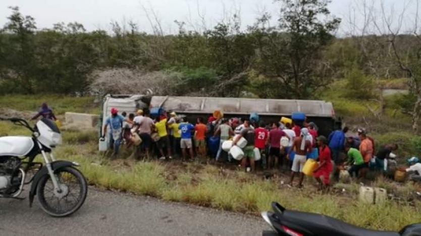 Ascendió a 13 el número de muertos en accidente de camión cisterna en Tasajera