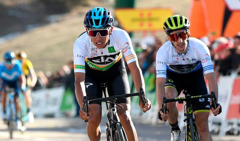 Egan Bernal se retiró del Tour de Francia