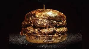 Polémica por venta de hamburguesa bañada en oro en Bucaramanga