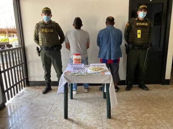 Capturado con marihuana presidente de una junta de acción comunal