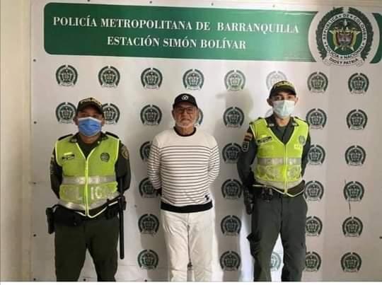 Capturan al Cura Hoyos ex alcalde de Barranquilla