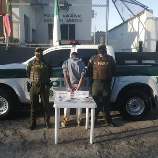 Hombre fué Capturado en Abrego por Presunto Hurto de Dinero