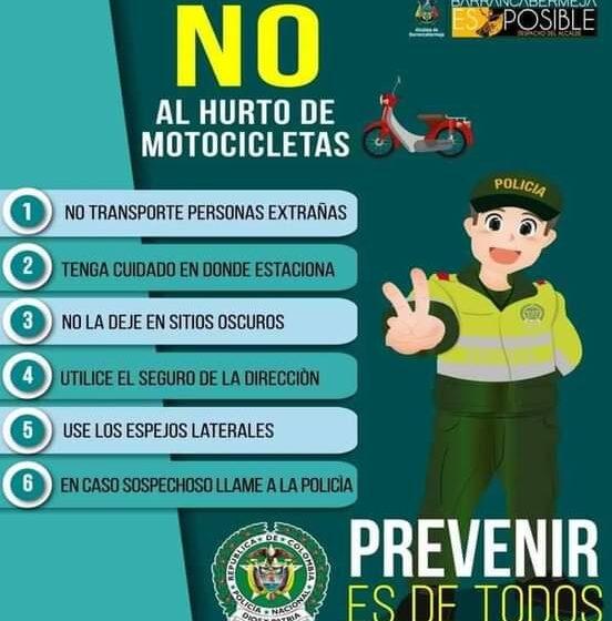 Ofrecen recompensa para capturar ladrones de motos en El Banco Magdalena.