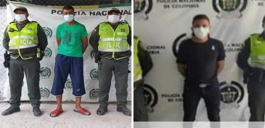 Dos detenidos por abuso sexual en el Cesar