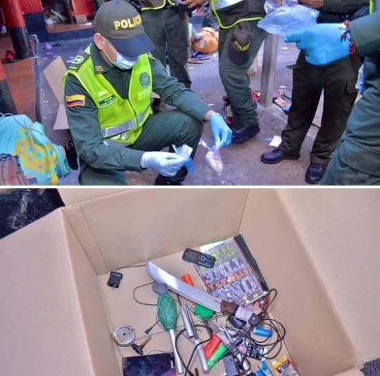 Intervienen Permanente Central de la Policía en Valledupar
