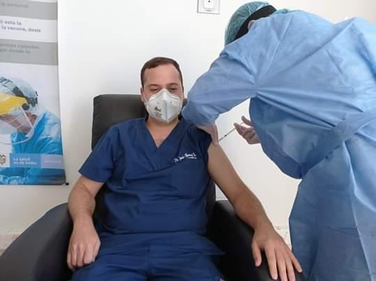 Inició plan de vacunación contra el Covid-19 en Aguachica.