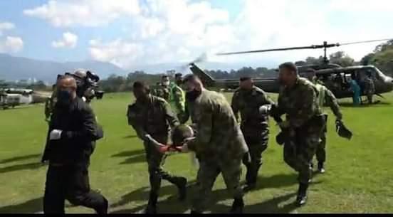 Tres miembros del Clan del Golfo abatidos en el sur de Bolívar