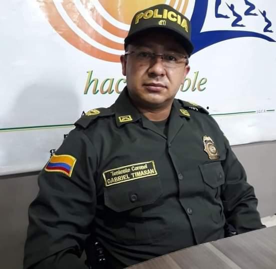 Nuevo comandante de policía para distrito de Ocaña.