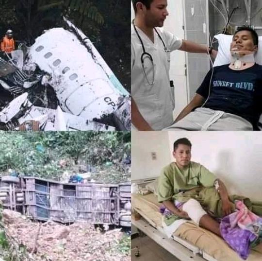 Sobreviviente a tragedia de Chapecoense se libra de de otro fatal accidente.