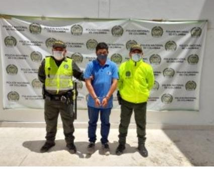 Por abusar de su hija de 6 años, capturado mototaxista en Aguachica.