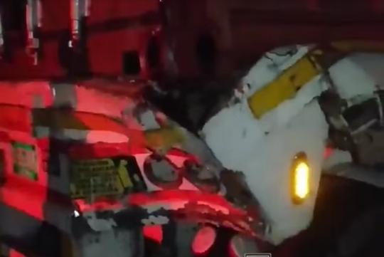 Accidente en la vía San Alberto deja una persona muerta.