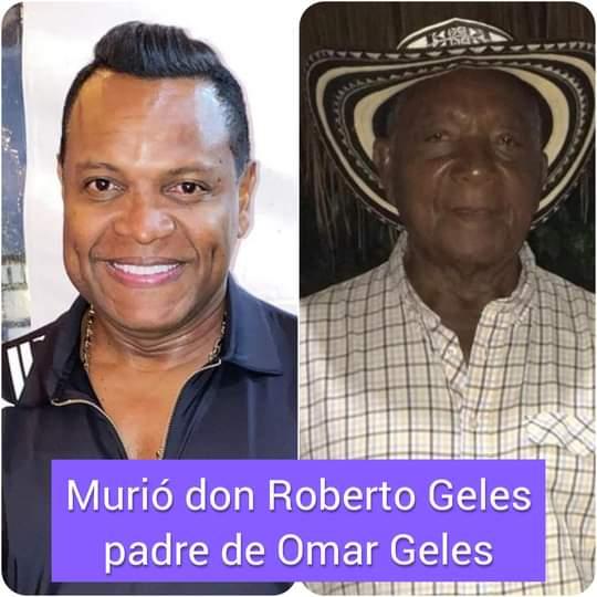 Murió en Valledupar padre del cantautor Omar Geles