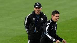 ¿Volverá? Ancelotti, técnico del Real Madrid, dio declaraciones y elogió a James Rodríguez