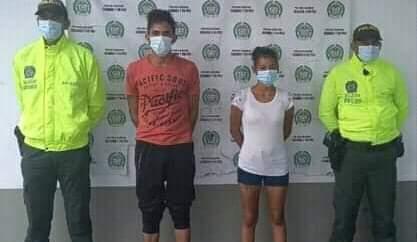 En Tamalameque Cesar, capturan pareja sindicada de asesinar a un niño.