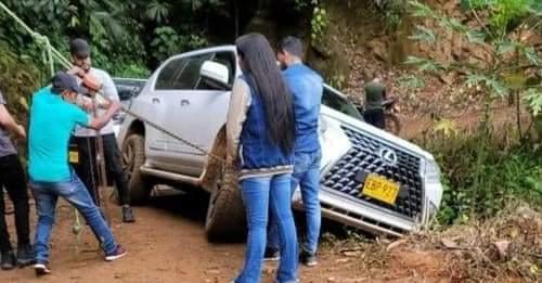 Nelson Velásquez por poco pierde la vida en un accidente de tránsito.