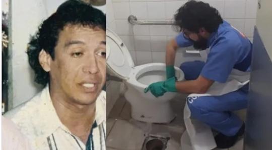 El hijo de Diomedes que lava baños en Estados Unidos para vivir.