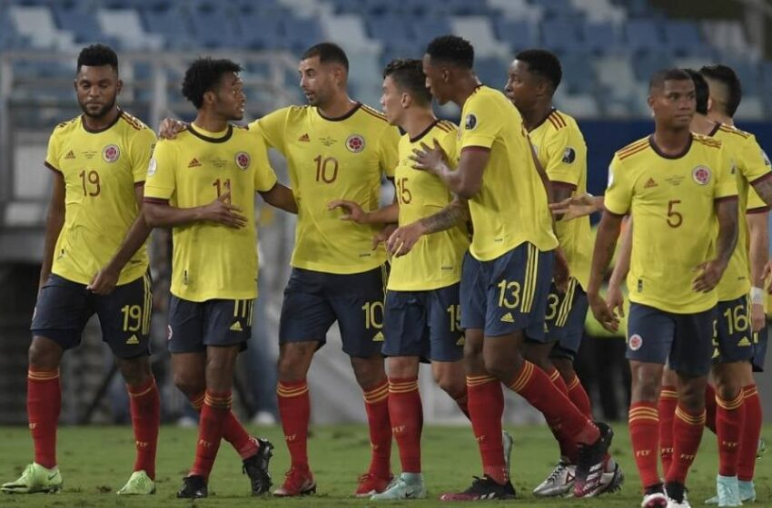 Lista convocatoria de Colombia contra Bolivia, Paraguay y Chile.