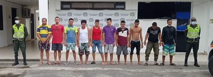 Capturadas 17 personas en Aguachica, Cesar.